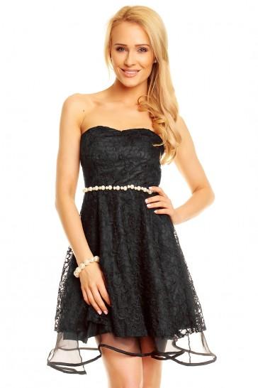 Proginė suknelė, dekoruota karoliukais