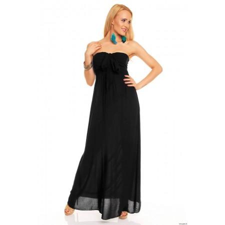 Ilga juoda suknelė