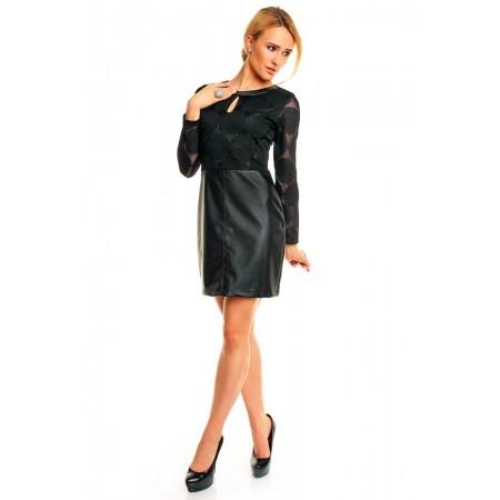 """Stilinga odinė suknelė """"Idees"""""""