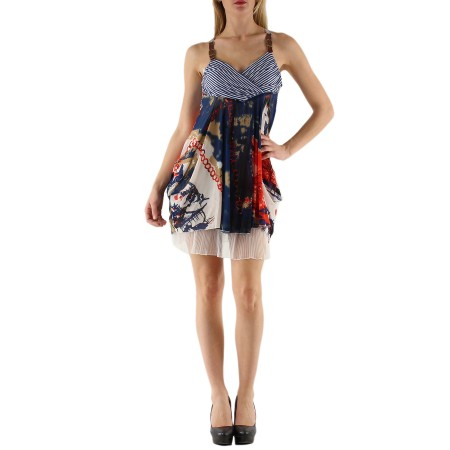 Stilinga vasarinė suknelė 342